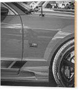 2006 Ford Saleen Mustang Bw Wood Print