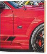 2006 Ford Saleen Mustang  Wood Print