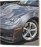 2010 Chevy Corvette Grand Sport Wood Print