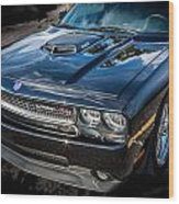 2010 Dodge Challenger Rt Hemi    Wood Print