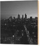 2013 City Of London Skyline Wood Print