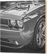2013 Dodge Challenger Wood Print