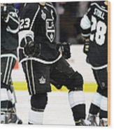 2014 Nhl Stanley Cup Final - Game Two Wood Print