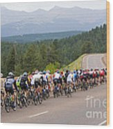 2014 Usa Pro Cycling Challenge Wood Print