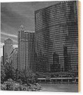 333 W Wacker Chicago Wood Print
