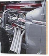 455 Rocket Wood Print