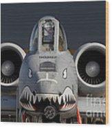 A-10 Warthog Wood Print