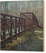 A Bridge Too Far Wood Print