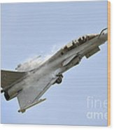 A Dassault Rafale Of The French Air Wood Print