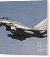 A Eurofighter Typhoon 2000 Multirole Wood Print