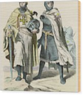A Grand Master Of The Teutonic  Knights Wood Print