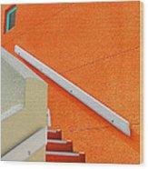 a L'orange Wood Print