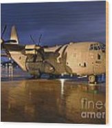 A Royal Air Force C130j Hercules  Wood Print