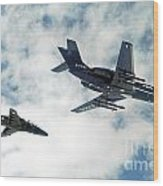 A Royal Air Force Hawk  Wood Print