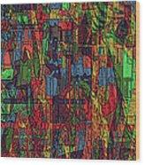 A Walk In The Woods Wood Print