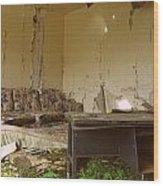 Abandoned Wood Print by Kiana Carr
