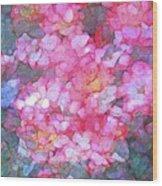 Abstract 279 Wood Print
