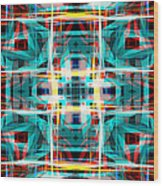 Abstract Pattern 5 Wood Print