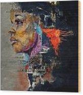 Abstract Women 015 Wood Print