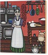 Abuelita Or Grandma Wood Print