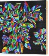 Acadiana In Bloom Wood Print