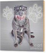 Access To Smart Dog Training Wood Print