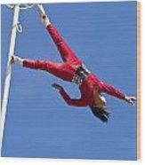 Acrobatic Performance Wood Print