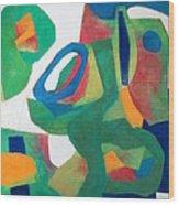 Adagio Wood Print by Diane Fine
