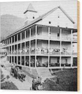 Adirondack Hotel, 1889 Wood Print