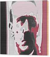 Adolph Hitler Collage Close-up Circa 1933-2009 Wood Print