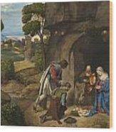 Respect Amd Love Of The Shepherds Wood Print