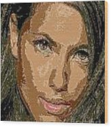 Adriana Lima Supermodel Wood Print