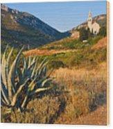 Adriatic Landscape Wood Print