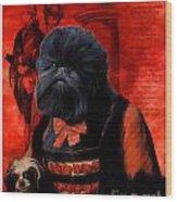 Affenpinscher Art By Nobility Dogs Wood Print