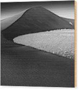 Africa, Namibia, Namib Desert, View Wood Print