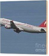Air Arabia Maroc Airbus A320 Wood Print
