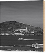 Alcatraz Island Wood Print