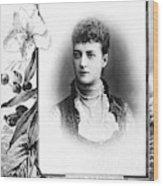 Alexandra Of Denmark (1844-1925) Wood Print