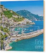 Amalfi Coast Wood Print
