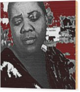 American Blues Singer Bessie Smith Unknown Date-2013 Wood Print