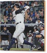 American League Wild Card Game - Minnesota Twins v New York Yankees Wood Print