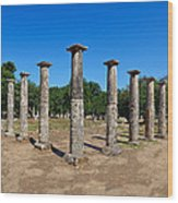 Ancient Olympia Wood Print