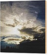 Andean Cloudwork Wood Print