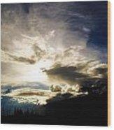 Andean Cloudwork Wood Print by Tyler Lucas