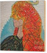 Angelica Gabriella Wood Print by Jackie Bodnar