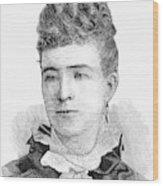Ann Eliza Young (1844-1925) Wood Print