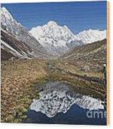 Annapurna Sanctuary Wood Print