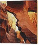 Antelope Canyon 9 Wood Print