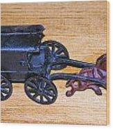Antique Cast Iron Toy Wood Print