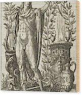 Apollo Pythias, The Greek God Wood Print